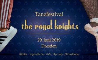 Flyer von the royal knights 2019, Vorderseite