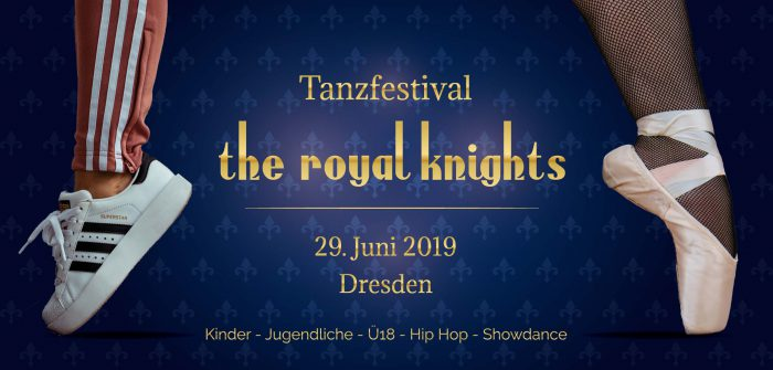 Flyer von the royal knights 2019, Vorderseite