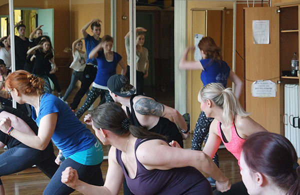 Einblick in unser Tanztraining