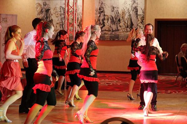Auftritt Tanzverein Empire beim Joker im Ehrenamt