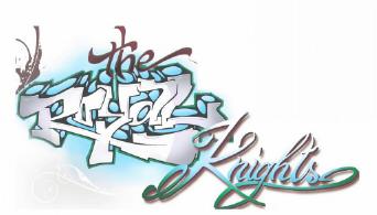 the royal knights Schriftzug