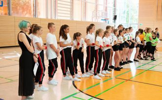 Alle Tanzgruppen des Tanzfestivals the royal knights 2019